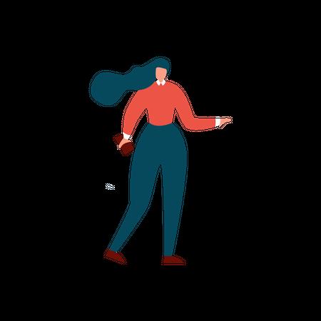 Cartoon Office People Character Illustration