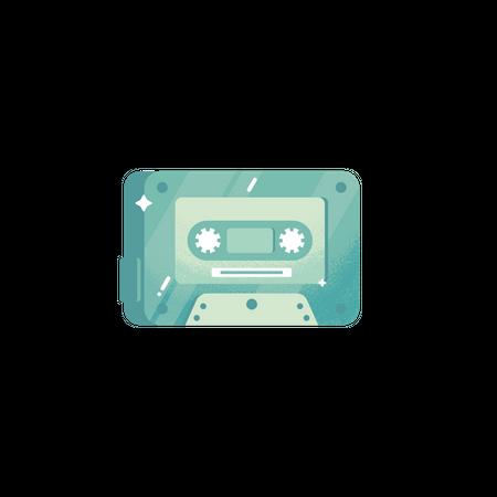 Cassette Illustration