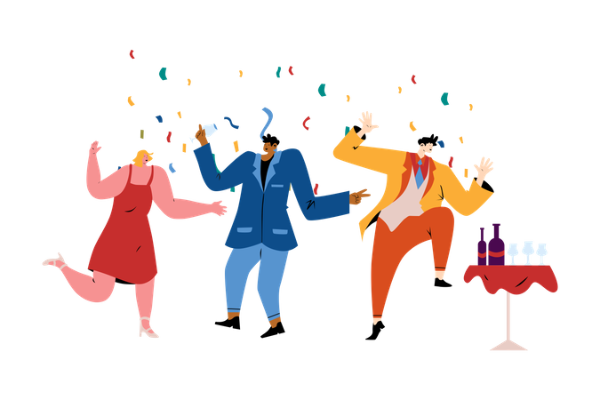 Celebration Party Illustration
