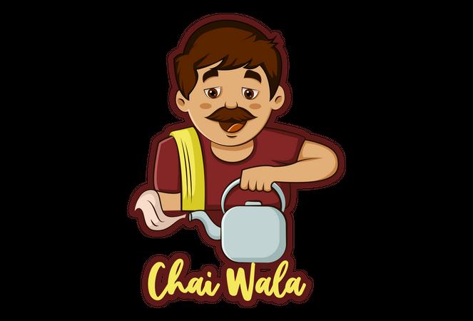 Chai wala Illustration