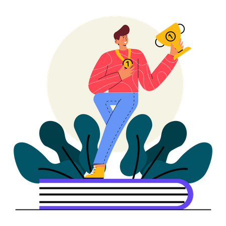 Champion in the Class Illustration