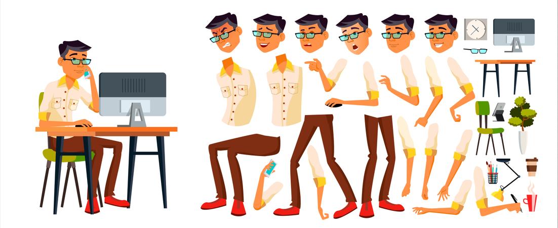 Character Animation Creation Illustration