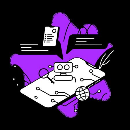 Chatbot Illustration