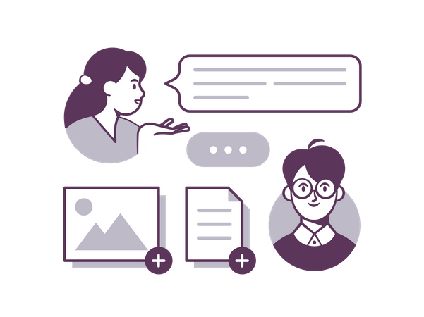Chatroom Illustration