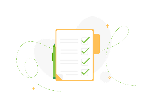 Checklist Illustration