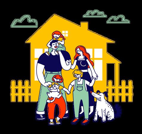 Child Adoption Illustration