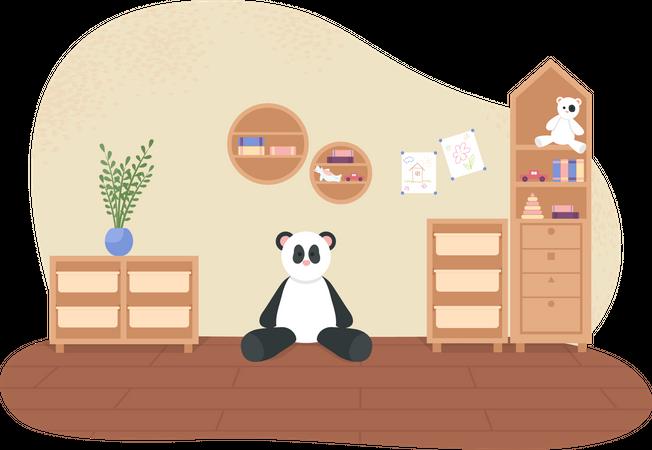 Children playroom Illustration