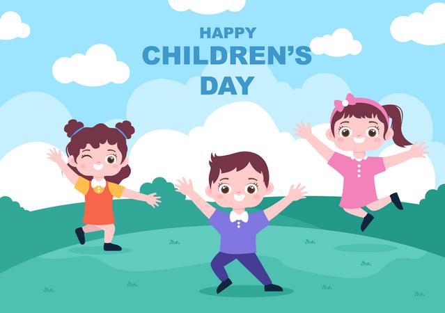 Children's Day Illustration