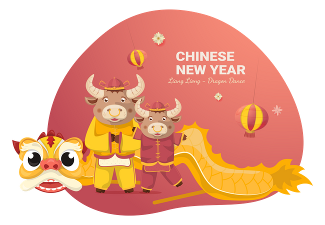Chinese lunar day Illustration