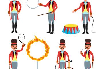 Circus Trainer Illustration Pack