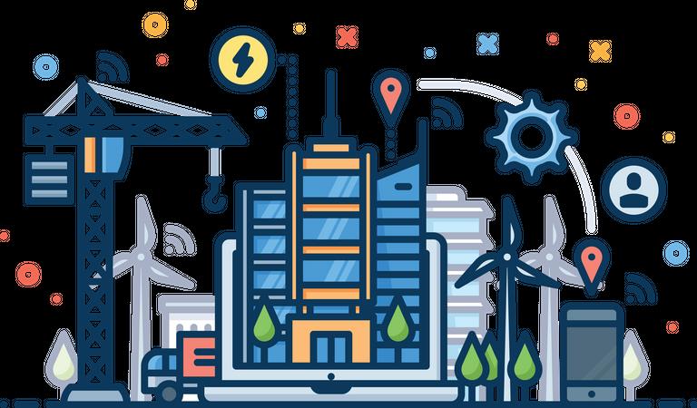 City Development Illustration