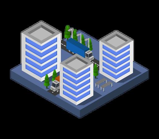 Cityscape Illustration