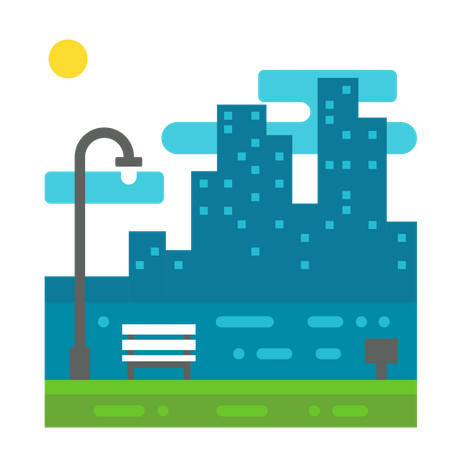 Clear weather Illustration