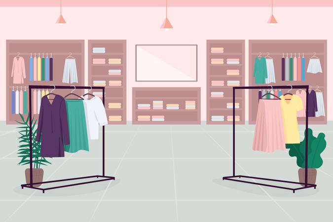 Clothes emporium Illustration