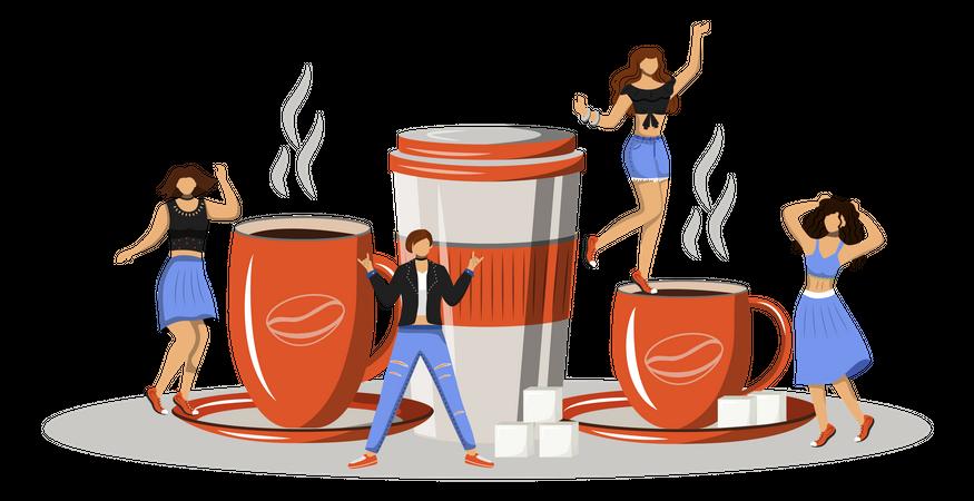 Coffee fest Illustration