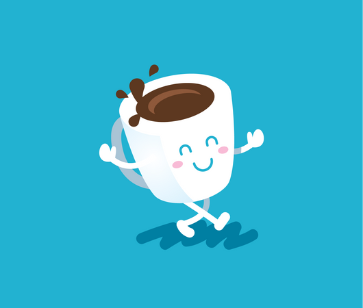 Coffee pal Illustration