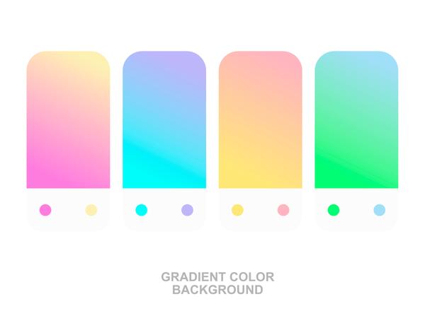Color Gradient Background Illustration