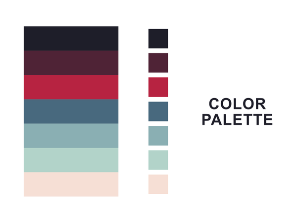 Color Palete Illustration