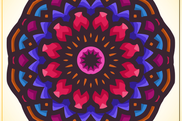 Mandala Ethnic Ornamental Illustration Pack