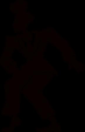Comic man in retro suit Illustration
