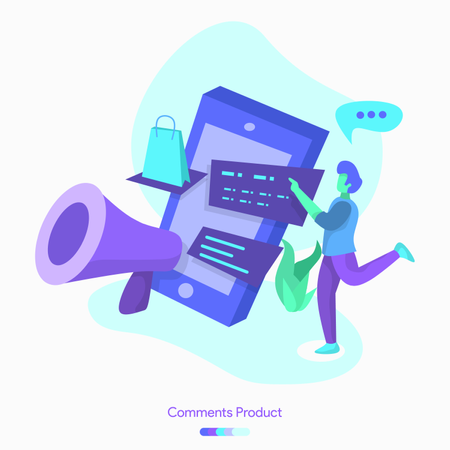 Comments product Illustration