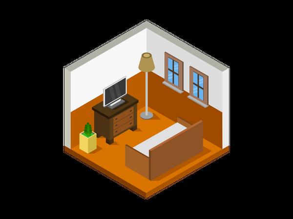 Common room Illustration