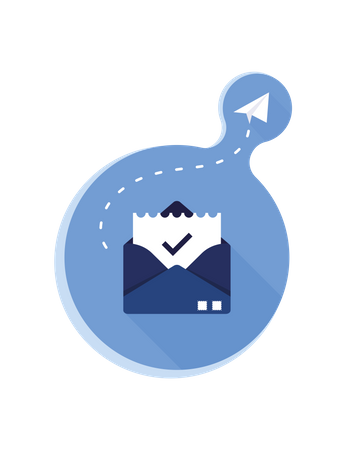Confirm email Illustration