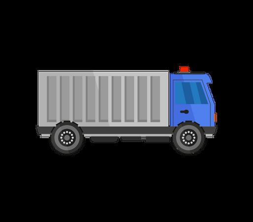 Construction Truck Illustration