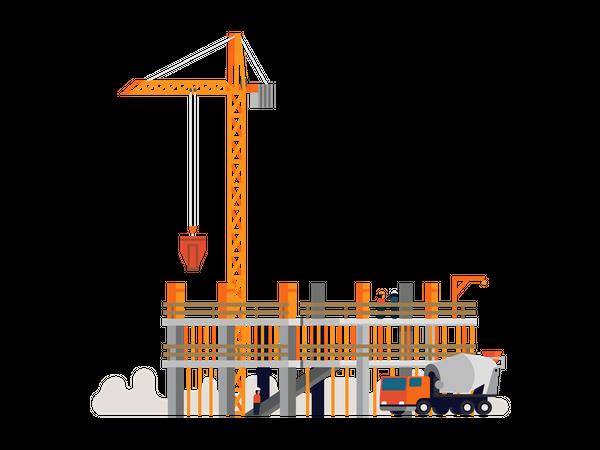 Construction work Illustration