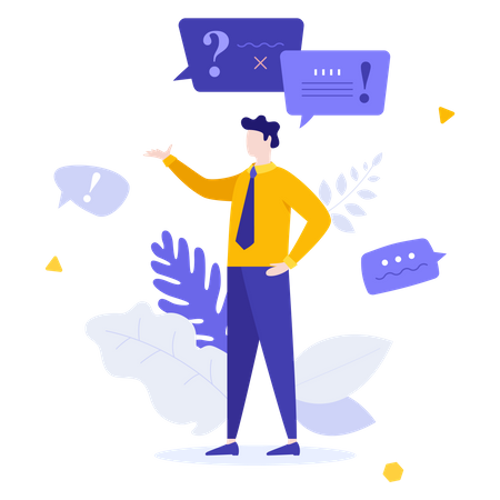 Consulting Service Illustration