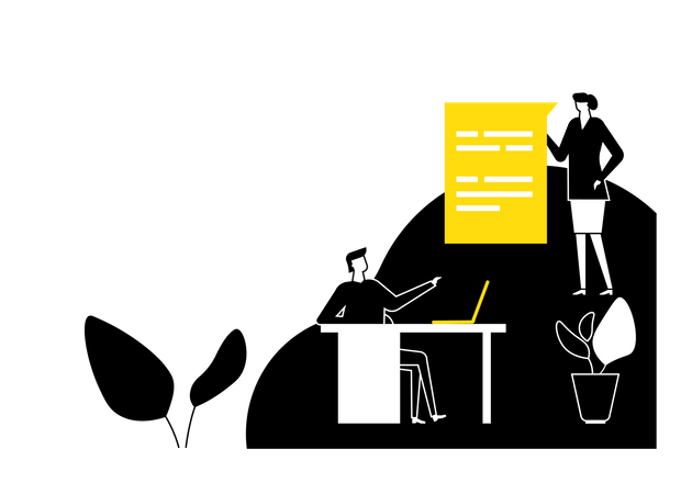 Consulting services Illustration