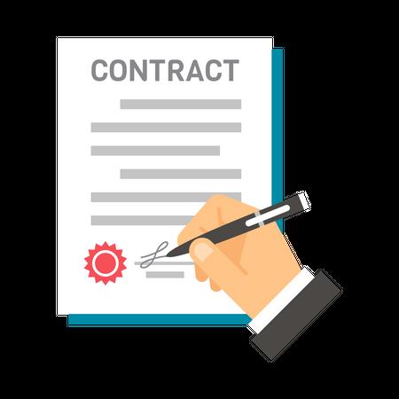 Contract Illustration