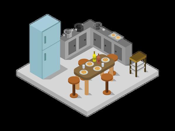 Cookhouse Illustration