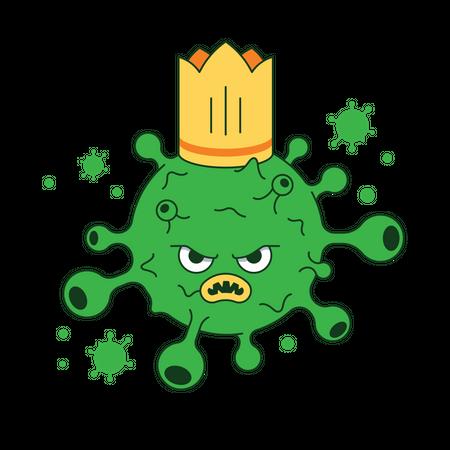 Corona virus Illustration