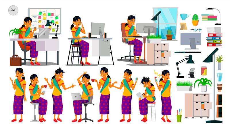 Corporate Environment Illustration