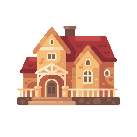 Country house Illustration