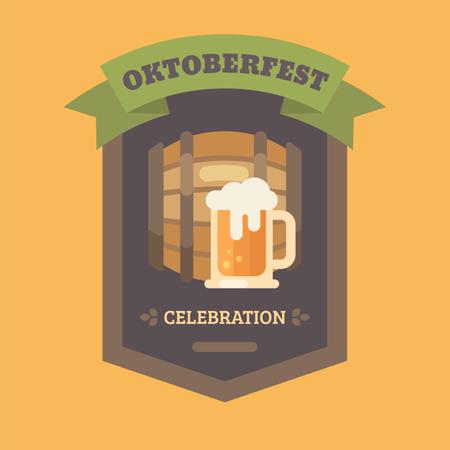 Craft beer banner Illustration