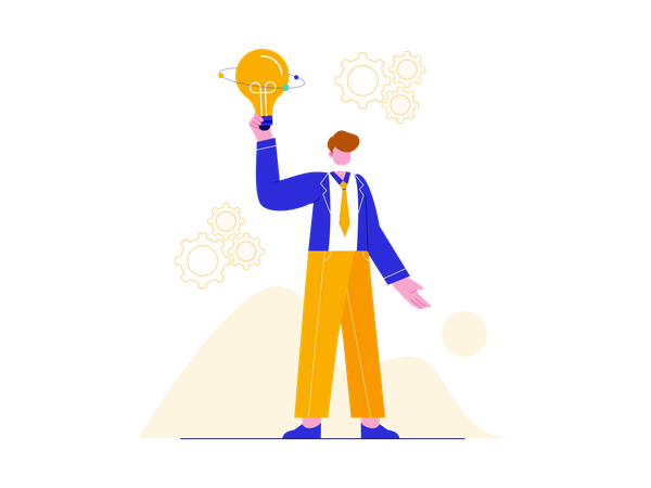 Creative Business idea Illustration