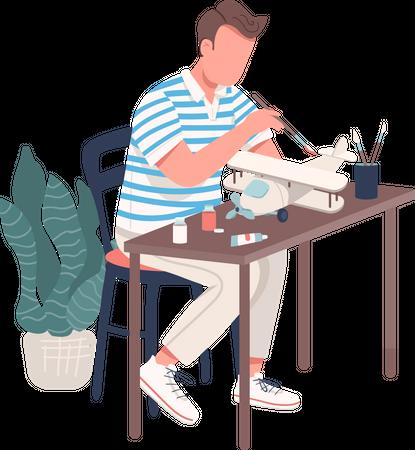 Creative engineer Illustration