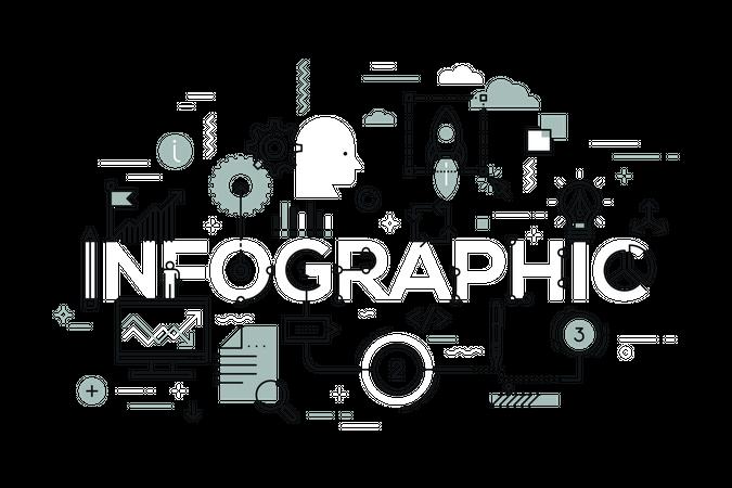 Creative infographic Illustration