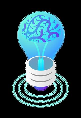 Creative thinking Illustration