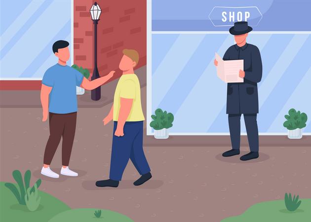 Criminals Illustration