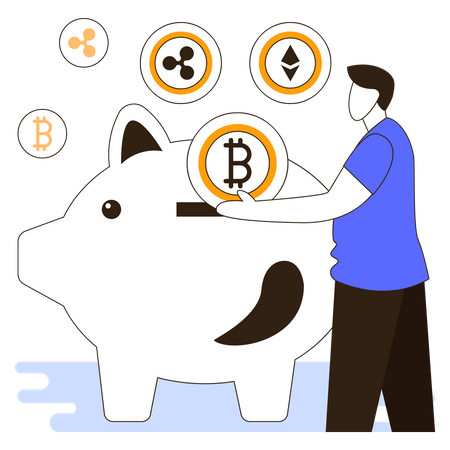 Crypto Investment Illustration