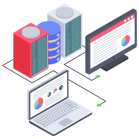 Cryptocurrency Database report Illustration