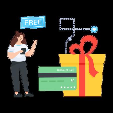 Customer Loyalty Program Illustration