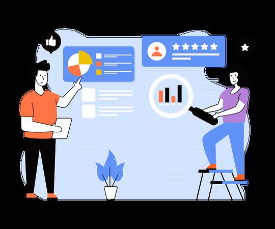 Customer Response Analysis Illustration