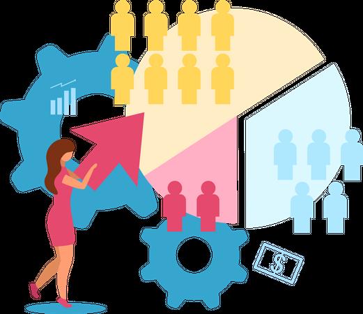 Customer segment Illustration