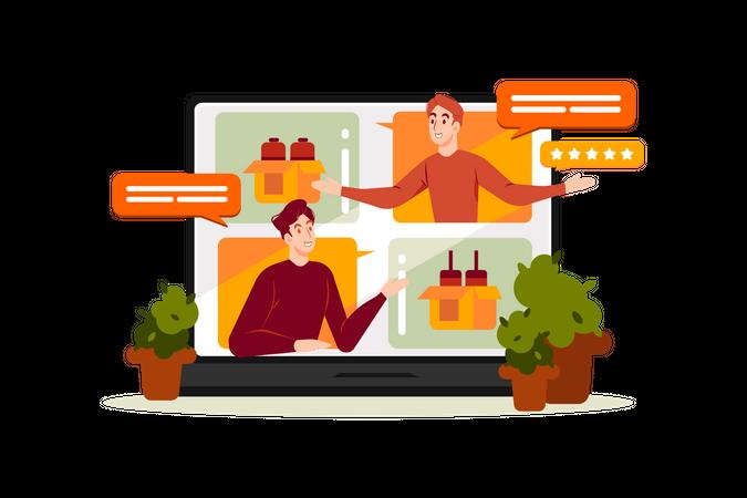 Customers Feedback Illustration