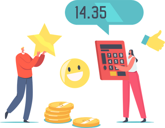 Customers Satisfaction with Product Cost Illustration