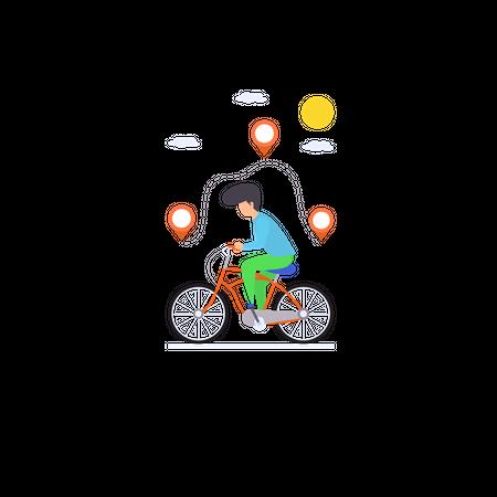 Customize Route Illustration